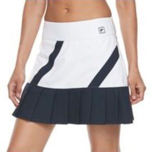 Fila Sport Golf or Tennis Skort white & Navy Blue
